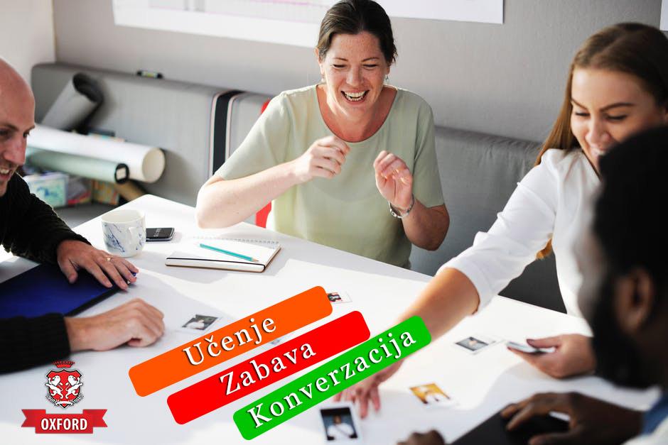 Učenje, zabava, konverzacija